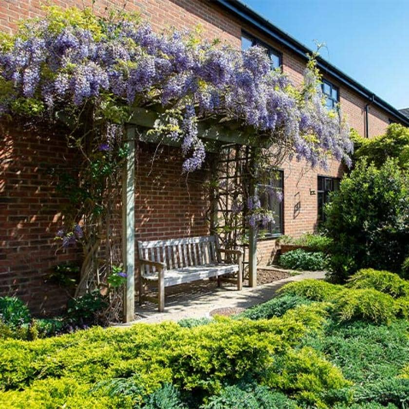Garden at Dalby Court