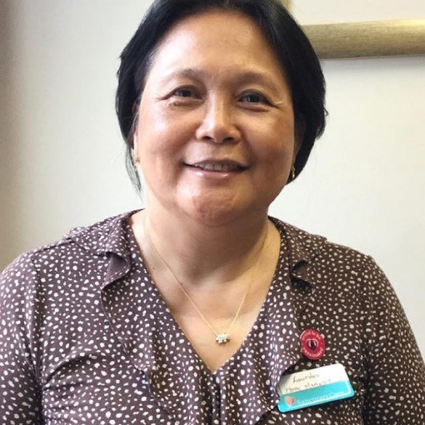 Dedicated Haven Care Home Manager Lourdes Pascua