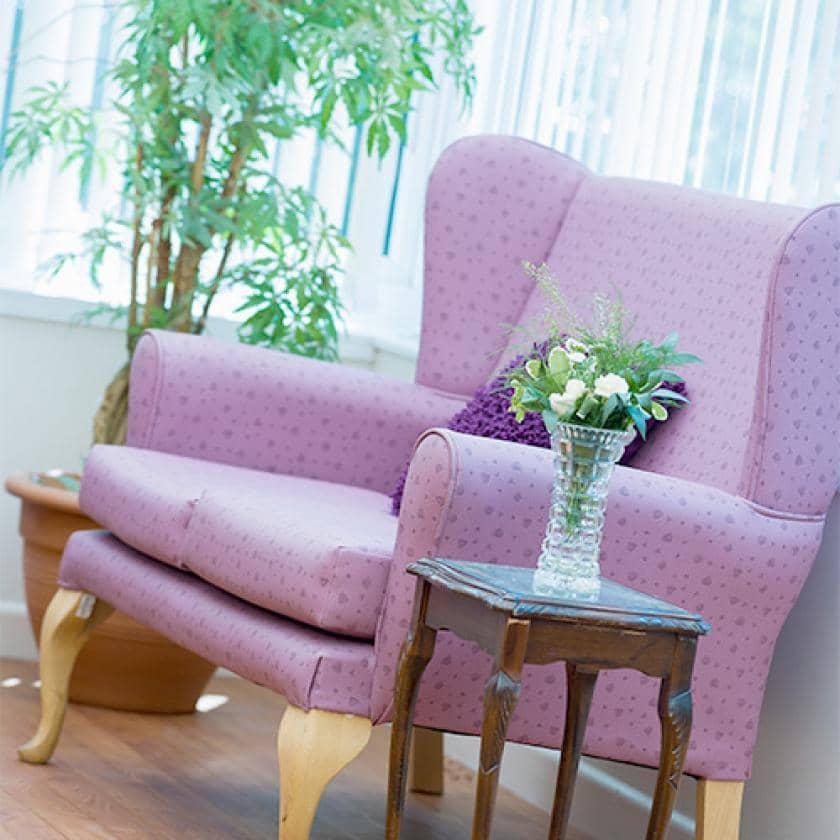 Lounge at Fernihurst care home