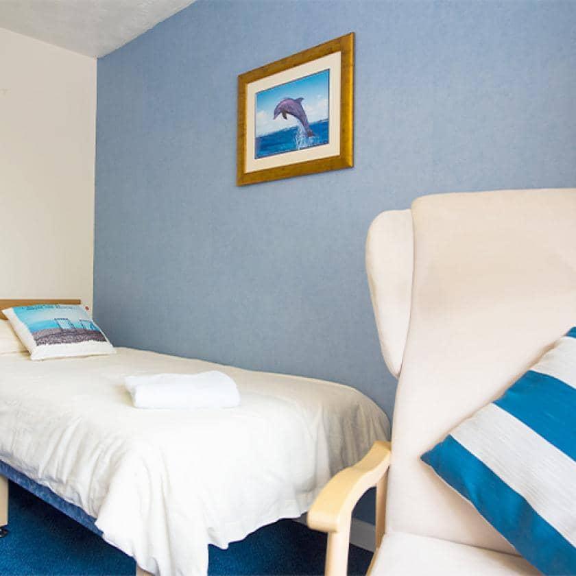 Bedroom at Furzehatt