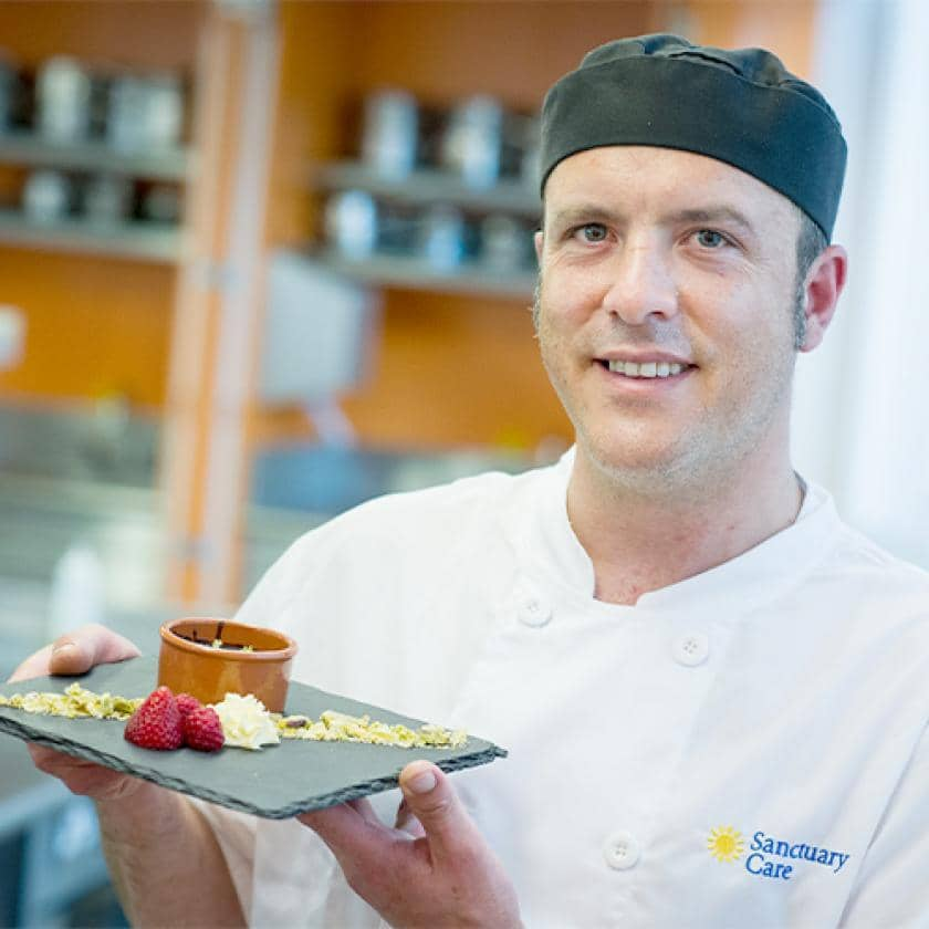 Greenslades chef Ruaan Prins