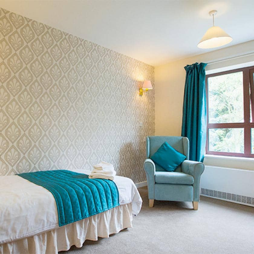 Spacious bedrooms at Hastings care home