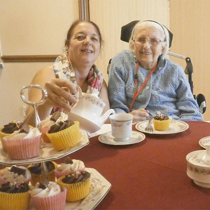 Residents and staff enjoy Silver Sunday at Hatfield