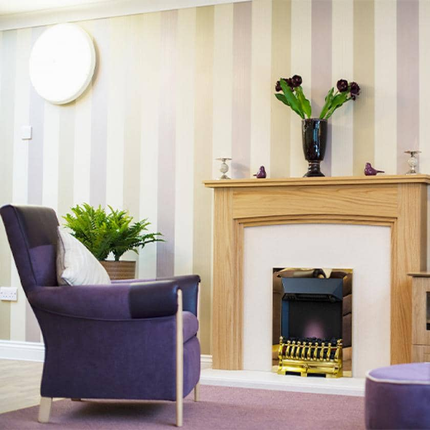 Welcoming lounges at Haven care home