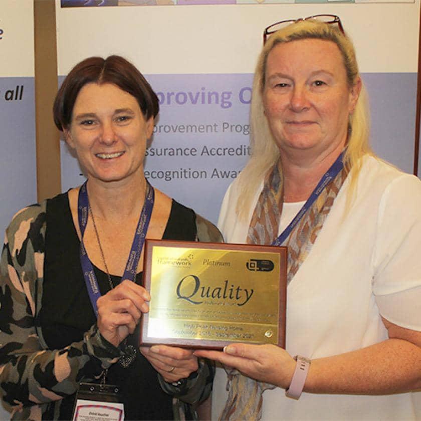 Award win for High Peak Care Home