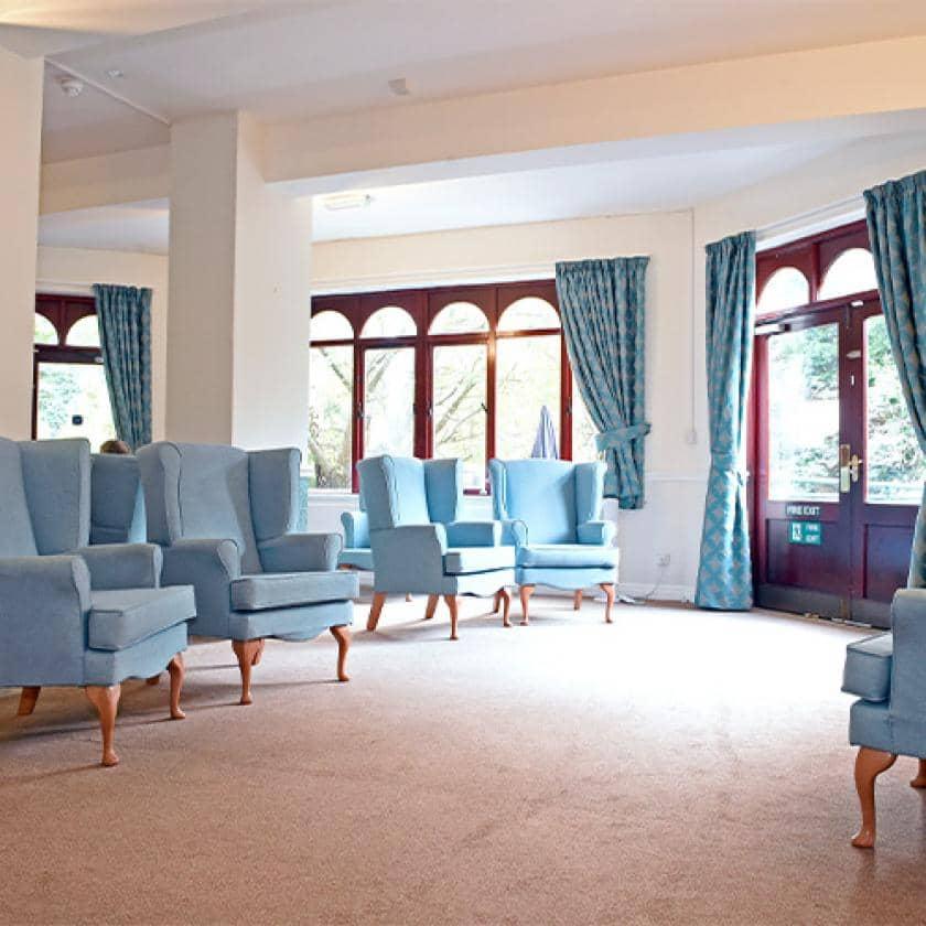 High Peak Lounge area