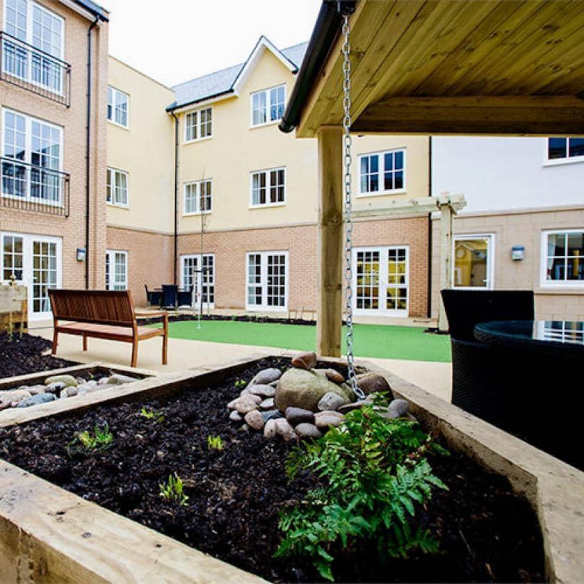 Exterior of Iffley care home