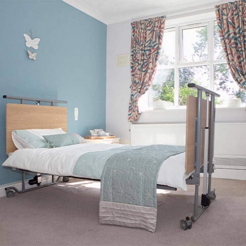 Lake and Orchard bedroom