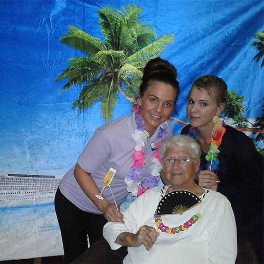 Resident and carers enjoy Cruise week