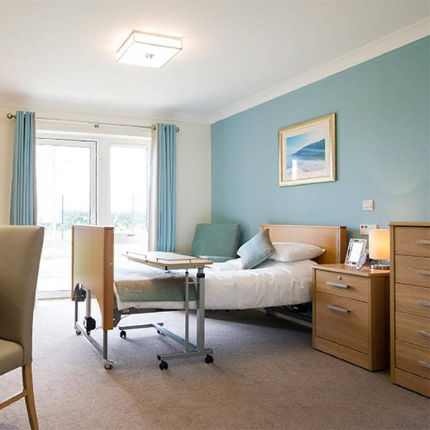 Resident bedroom at Meadow View