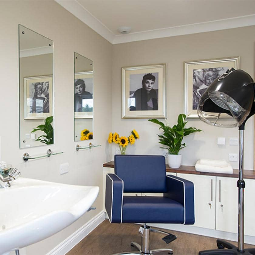 Hairdressing salon at Meadow View