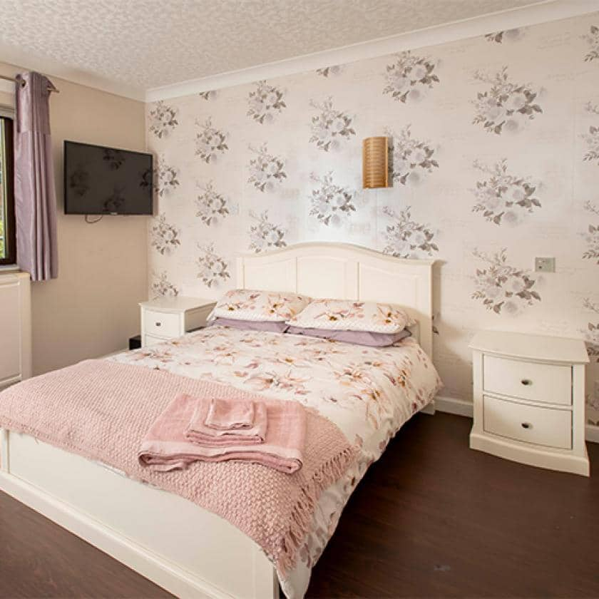 Millport bedroom for residents
