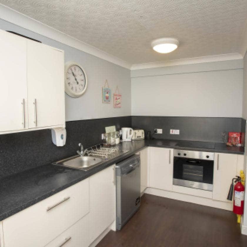 Kitchen area at Millport