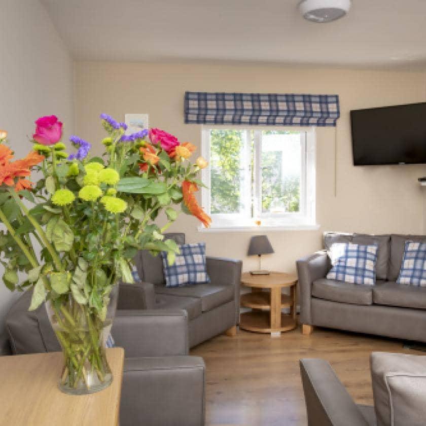 Living area at Millport