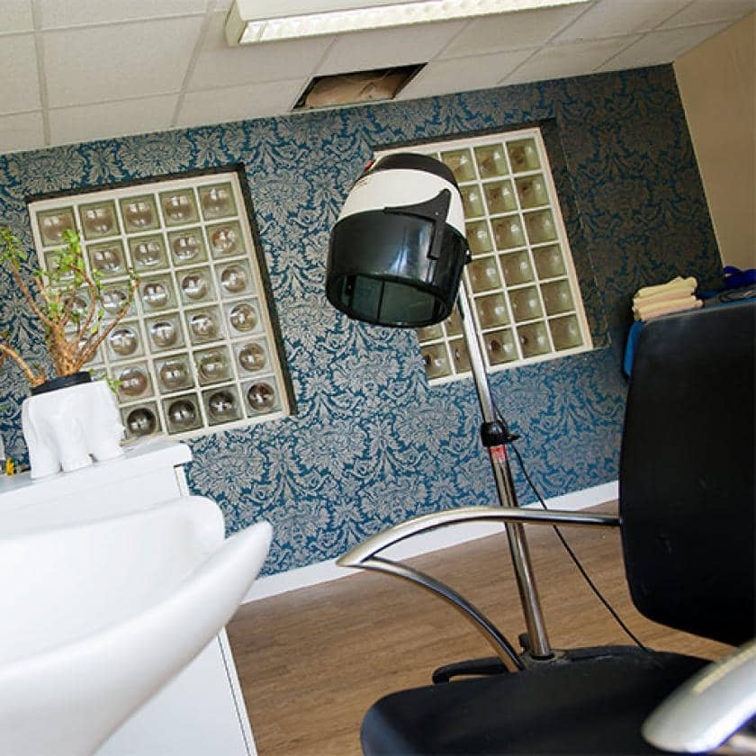 Hairdressing salon at Orchard House