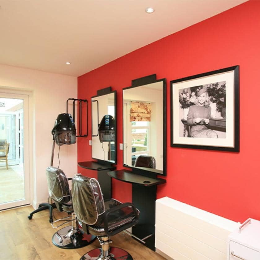 Hairdressing salon at Park View