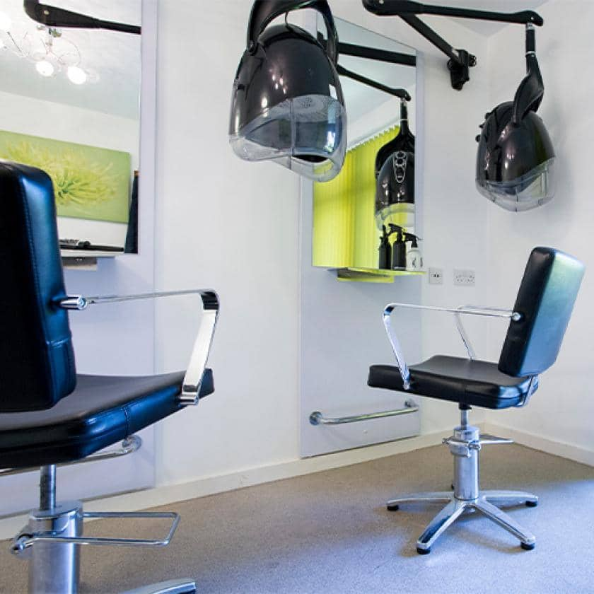 Hairdressing salon at Parkview House