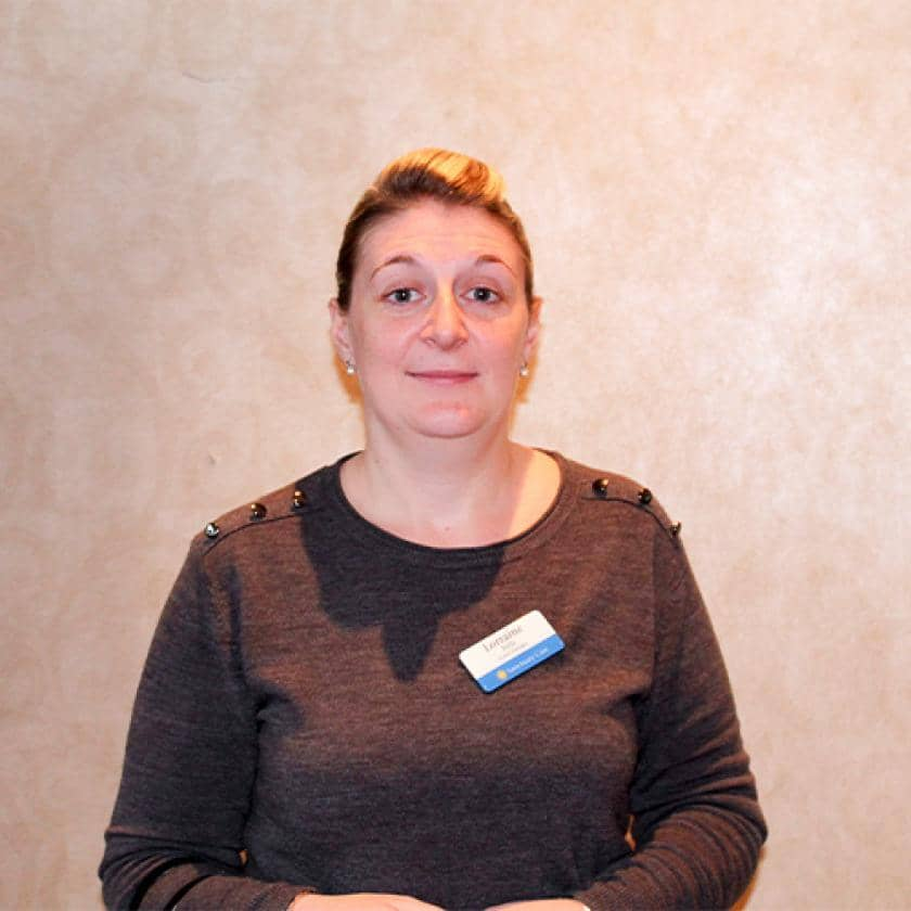 Parkview House manager Lorraine Pells