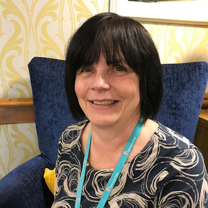 Wantage Nursing Home Manager Patricia Shaw