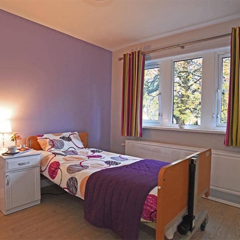 Bedroom at Peel Gardens