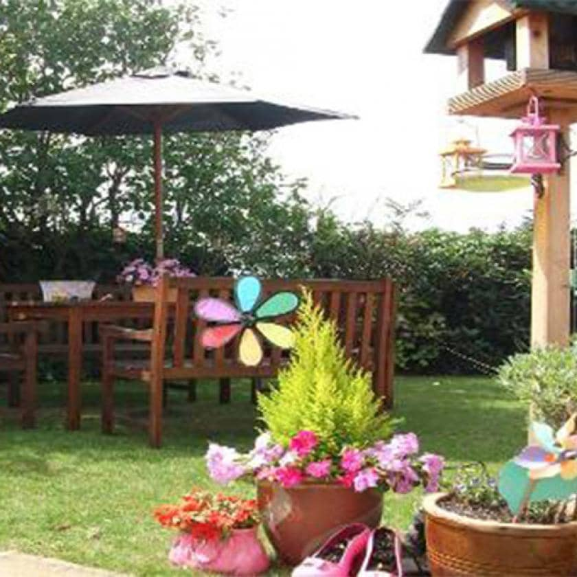 Garden at Prince Alfred care home