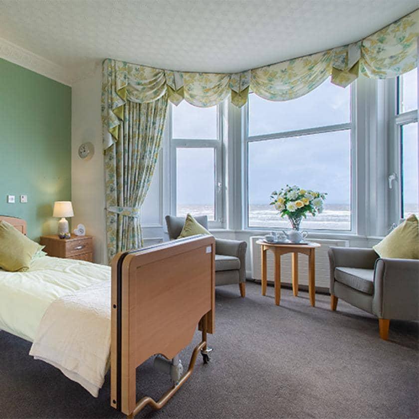 Bedroom at Queens