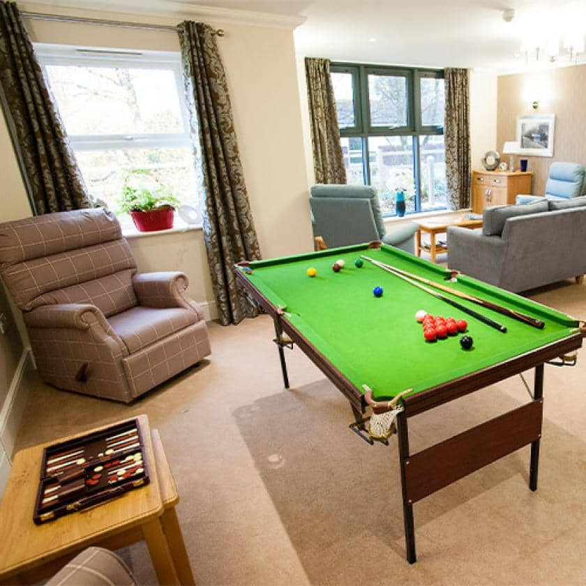 Communal area at Redhill Court