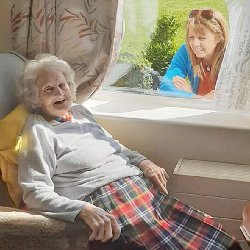 Resident Josie at Redhill Court