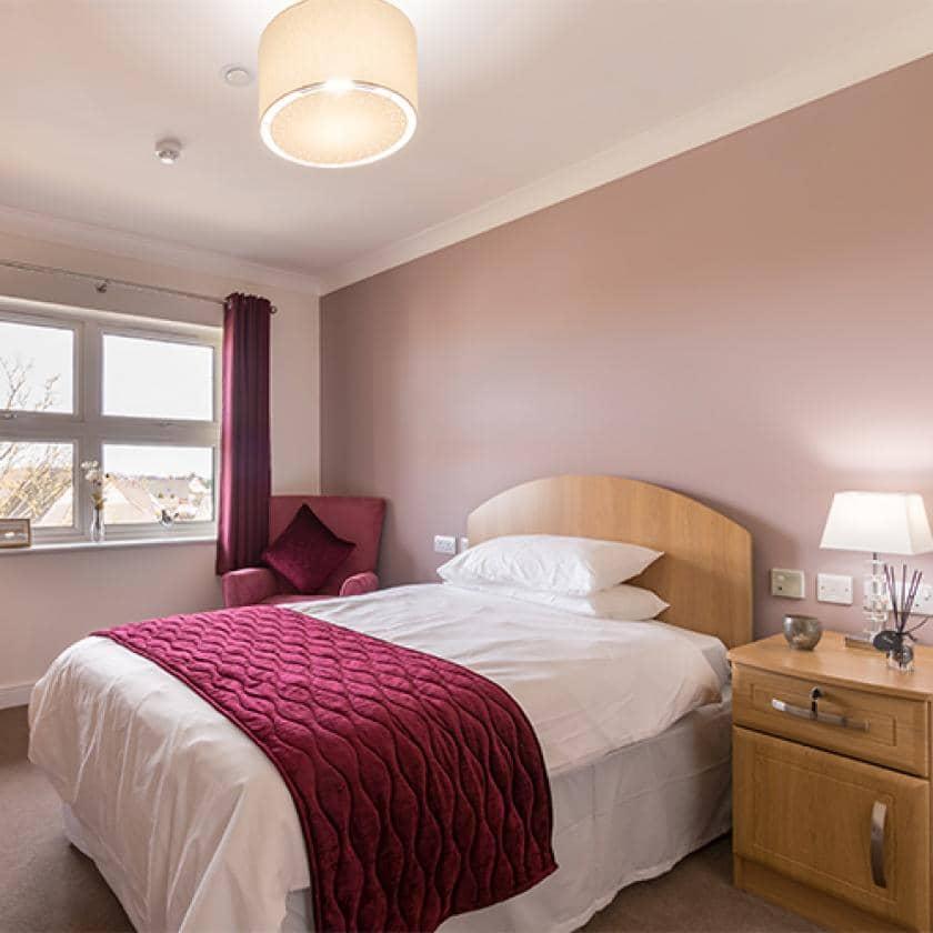 Bedroom at Ridgewood Court