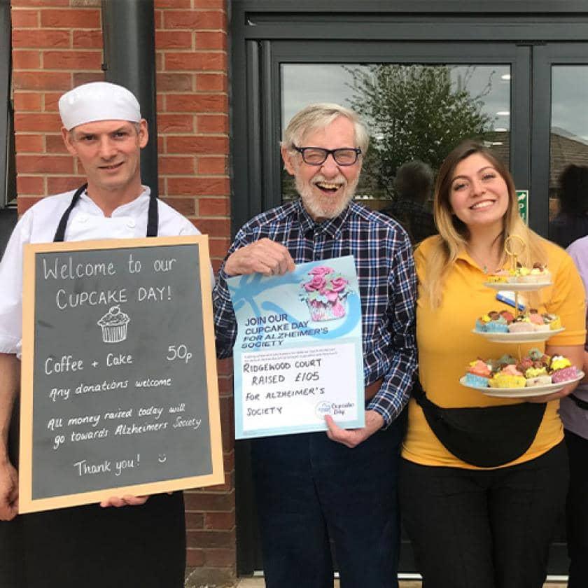 Ridgewood Court raising money for Cupcake day