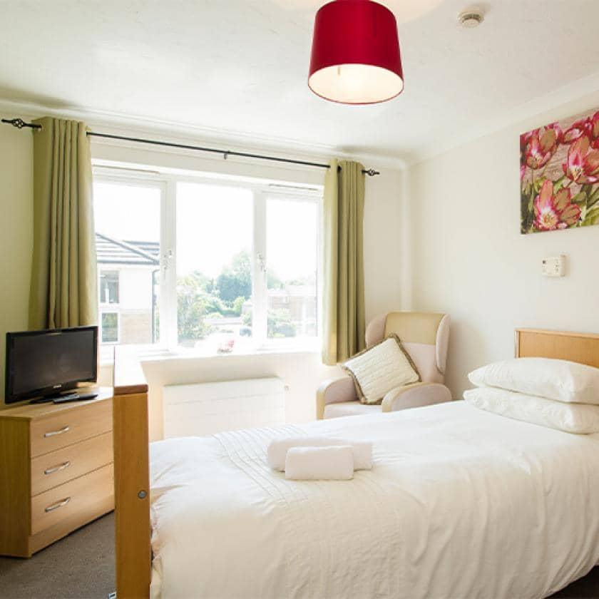 Bedroom at Riverlee