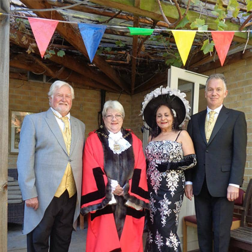 Mayor of Greenwich and the Connaught Opera trio