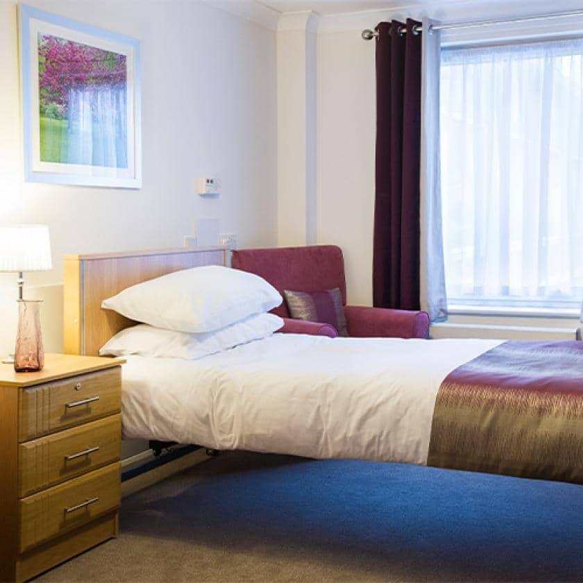Bedroom at Rowanweald