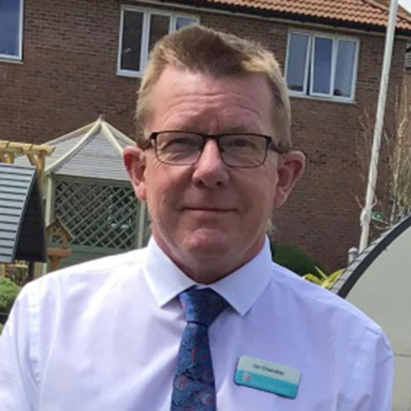 Sanctuary Care - Meadow View Care Home Manager Ian Chandler