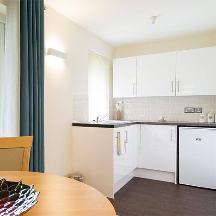 Kitchen at Shaftesbury Court