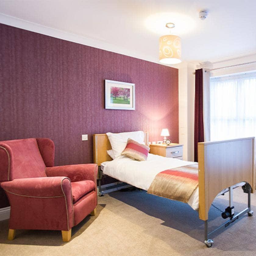 Bedroom at Upton Dene