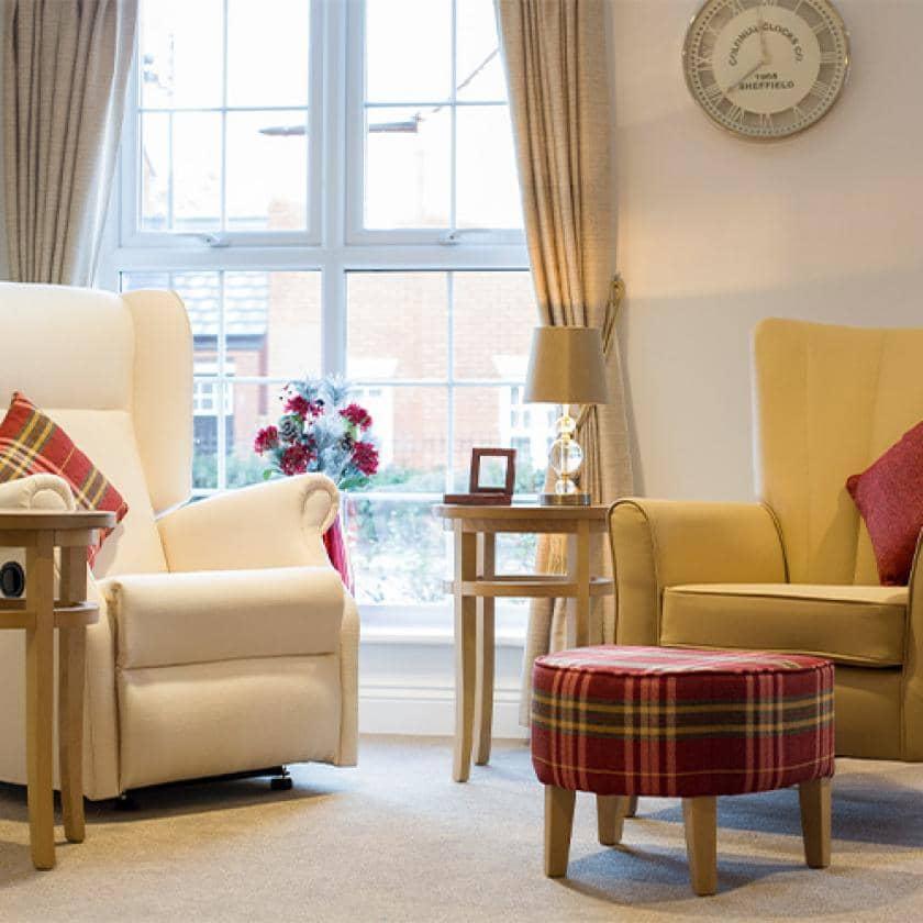 Lounge at Upton Dene