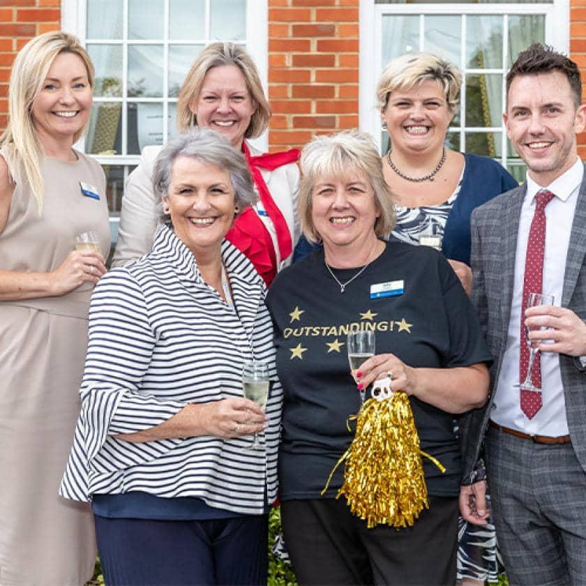 Watlington staff celebrate CQC result