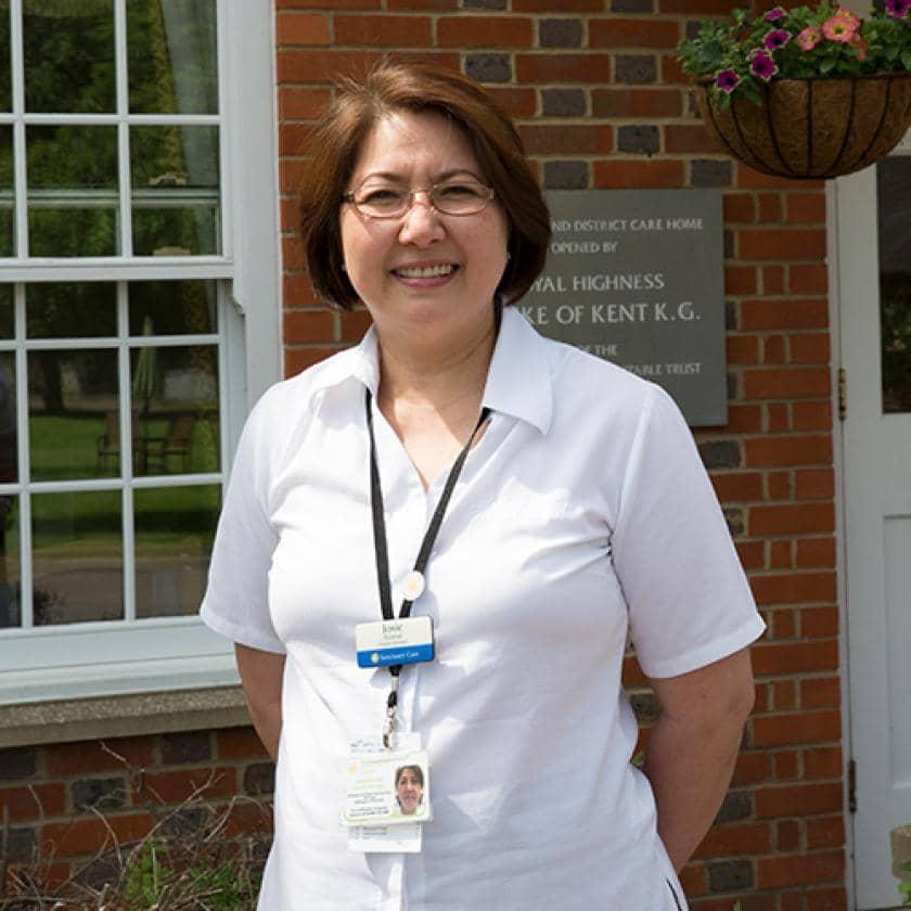 Watlington care home staff member