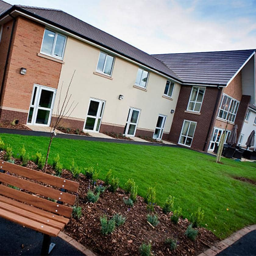 Exterior of Yarnton care home
